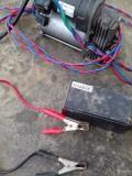 气动避震充气泵巧改车用轮胎充气泵