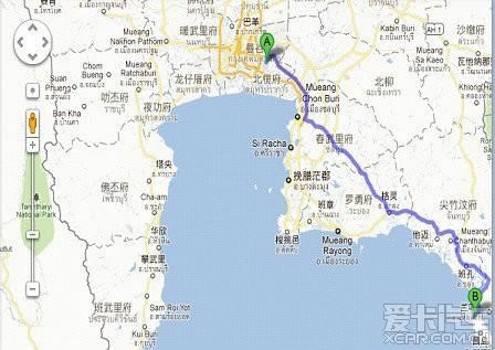 面积429平方公里,位于泰国东部与柬埔寨临界的达叻府(trat),距离曼谷