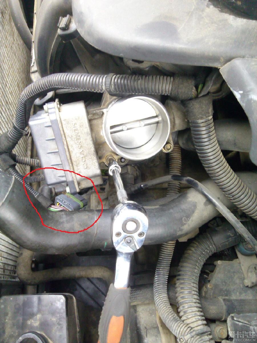 进气压力传感器高清图片