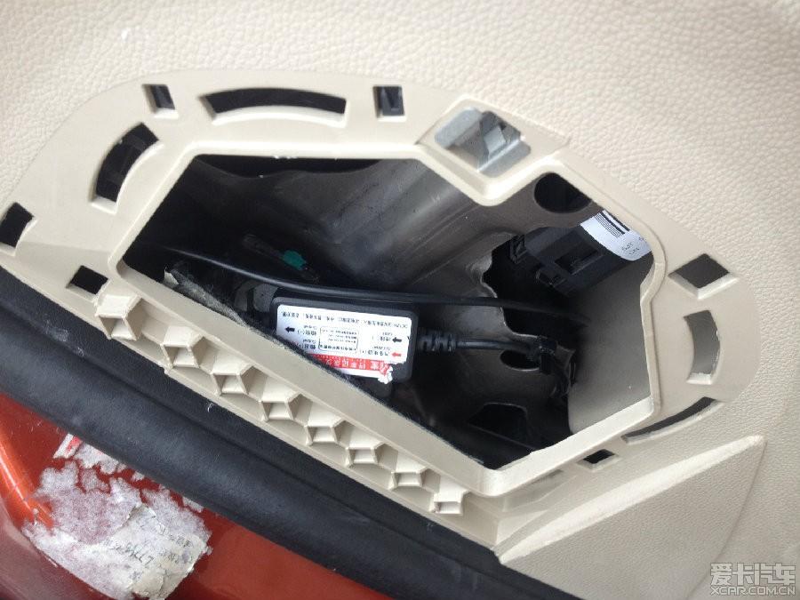 > 晶锐完美走线,保险盒取电成功安装行车记录仪.