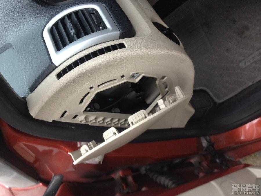 晶锐完美走线,保险盒取电成功安装行车记录仪.