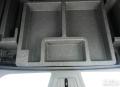 昂科威的后备箱储存盒跟备胎!