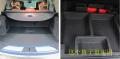 昂科威的后备箱空间较大,设计的格子也特别实用