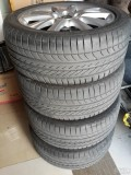 出明锐17寸RS轮毂和轮胎