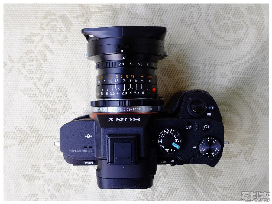 索尼A7M2转接徕卡M24mm/f2.8图纸试拍镜头样张梳妆台欧式图片