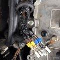维修点火线圈插头及线束。