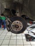 03年老捷达更换轮胎等