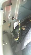 2010款408更换后刹车灯