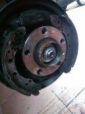 Polo改装后轮碟刹