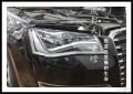 成都13款奥迪A8L改装高配豪华LED大灯总成矩阵大灯