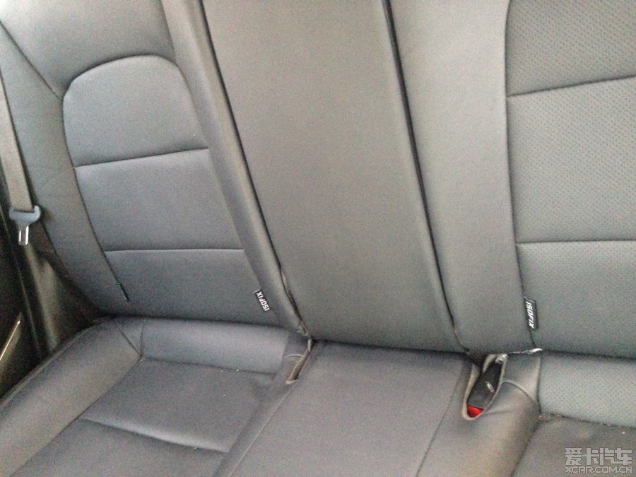 【京三会】后排安全带的隐藏方法