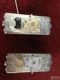 奥迪A4L大灯改装升级日行灯光源更换成红色光源