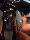 福州奥迪A4L改装后排空调口自动大灯雨感折叠后视镜