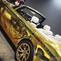 极致奢华美国西海岸黄金版劳斯莱斯幻影软顶敞篷车