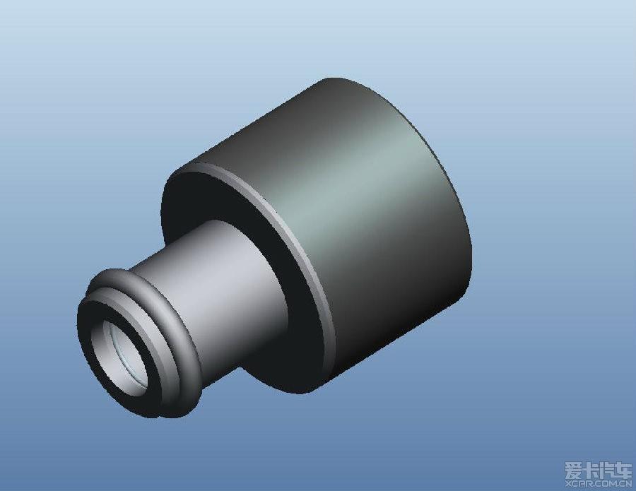 自己设计的纯金属凸轮轴废气单向阀征求意见_帕萨特图片