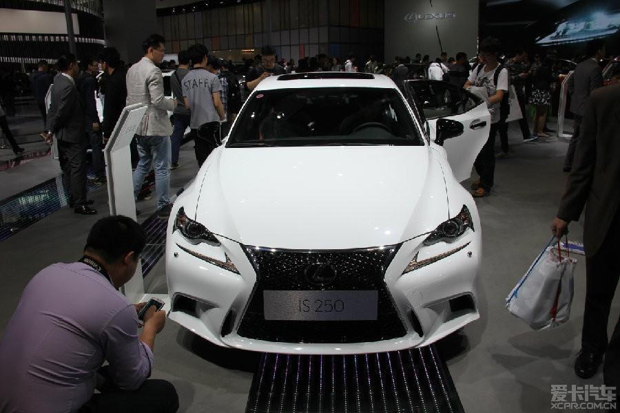 2015年上海车展参观雷克萨斯is250f 雷克萨斯is论坛