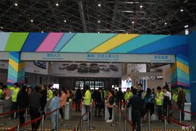 2015年上海车展带媳妇参观ct200h