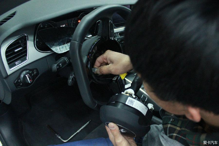 奥迪A4Lv少儿版改装TTRS方向盘和RS少儿请版手球广播体操音乐下载图片