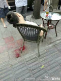 这啥情况?有点吓人!在滨江路河边下莲池街,路过突遇枪杀案