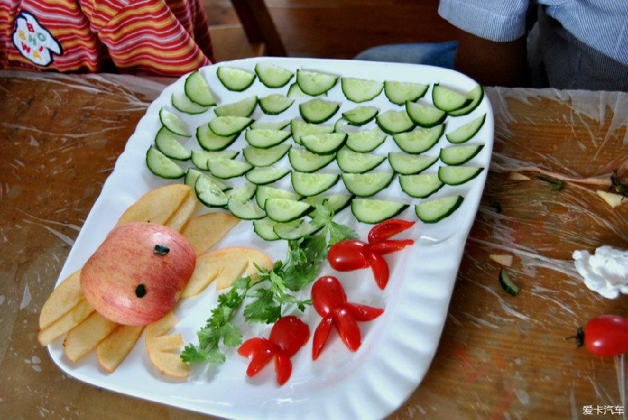 中班蔬菜拼盘