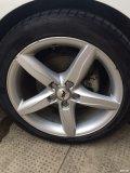 出售奥迪A4L原厂18寸运动版轮毂带4条胎