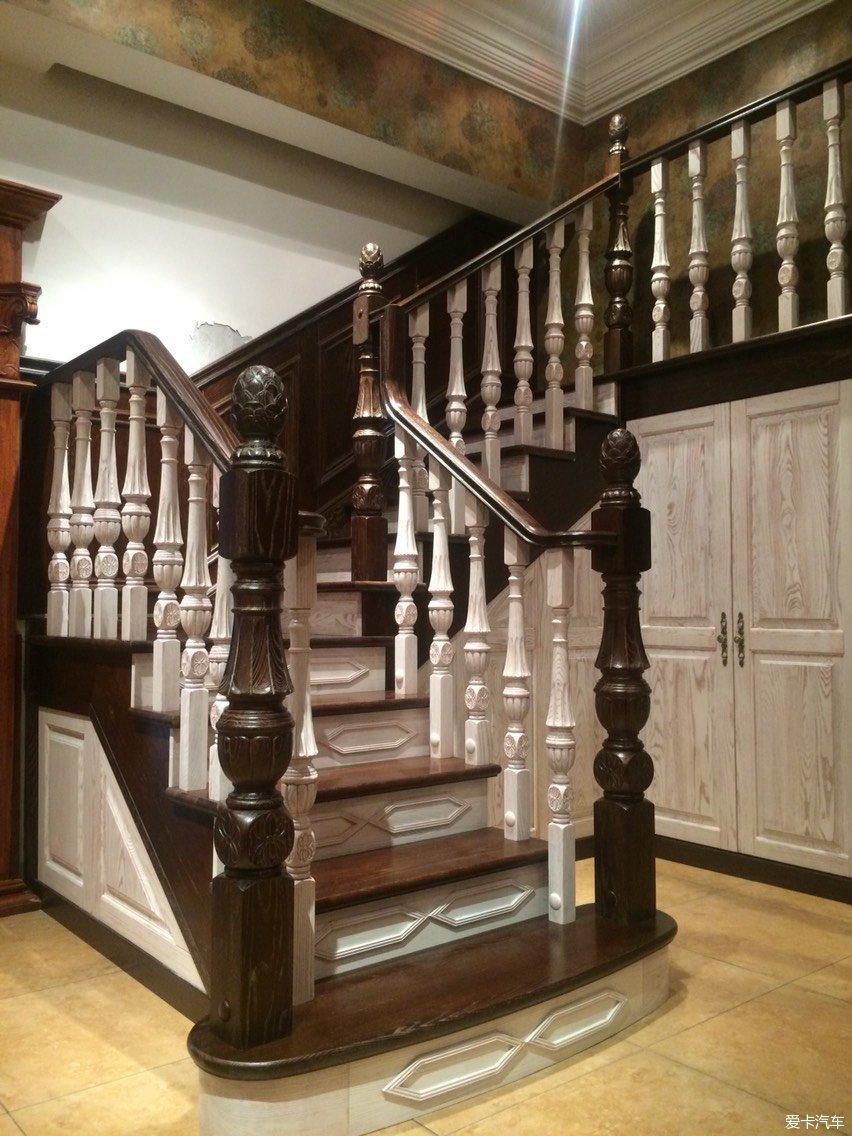 别墅和跃层楼梯材质和实物图