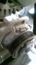 老速腾压缩机泵头轴承有谁换过?