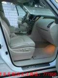 12年英菲尼迪QX56白色米白皮,无匙进入无匙起动