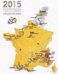 2015年环法自行车赛详细赛程