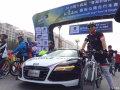 奥迪护航环青海湖自行车赛