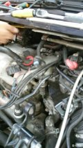 发帖简单。保养GL8启动机发电机