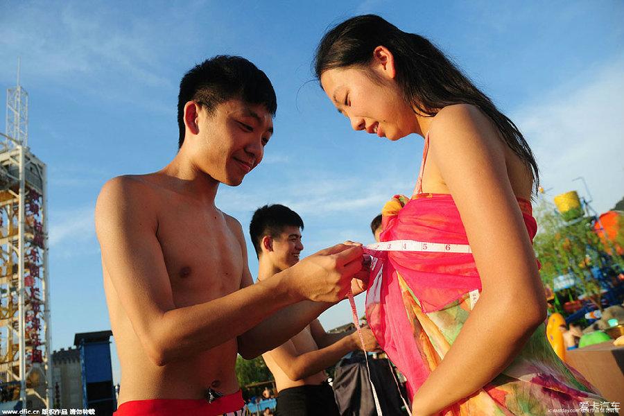 杭州万人素颜相亲 女生当场洗脸测胸围