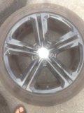 出、Rline17寸轮毂了、带225、45、17胎