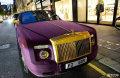 迪拜土豪来伦敦避暑超豪华车队齐聚街头