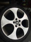 五代GTI更换横滨轮胎2254018