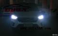 成都IX25改灯,ix25改装双光透镜氙气大灯LED日行灯