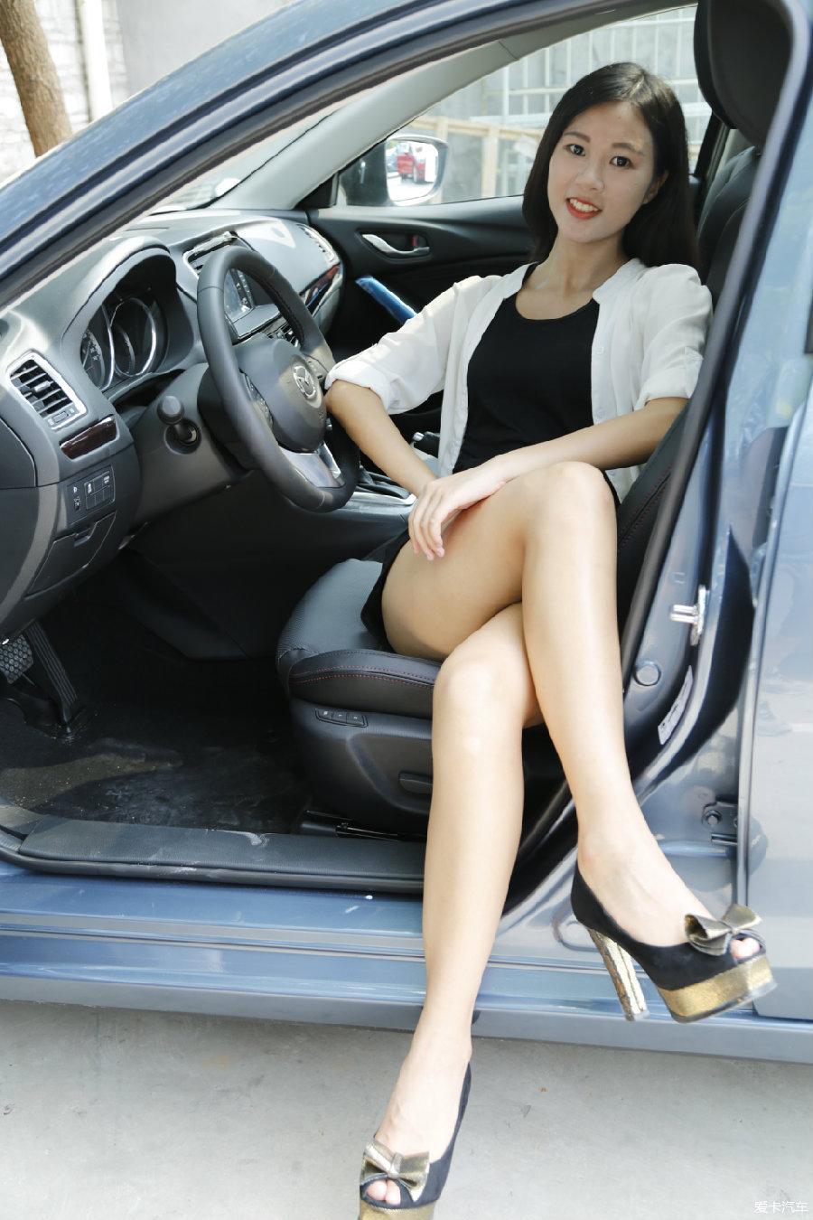 TENZA长腿媳妇当车模 用车报告,求上首页图片