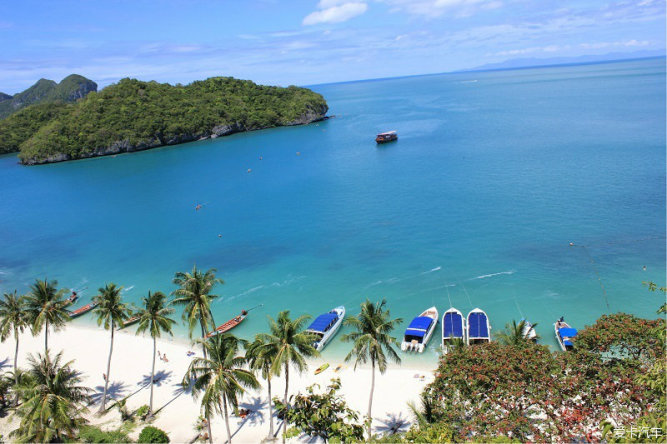 泰国海边风情:芭提雅,沙美岛,苏梅岛