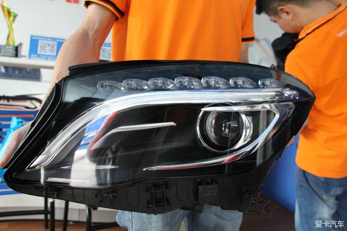 奔驰GLA200动感型来个豪华的升级!大灯还是要