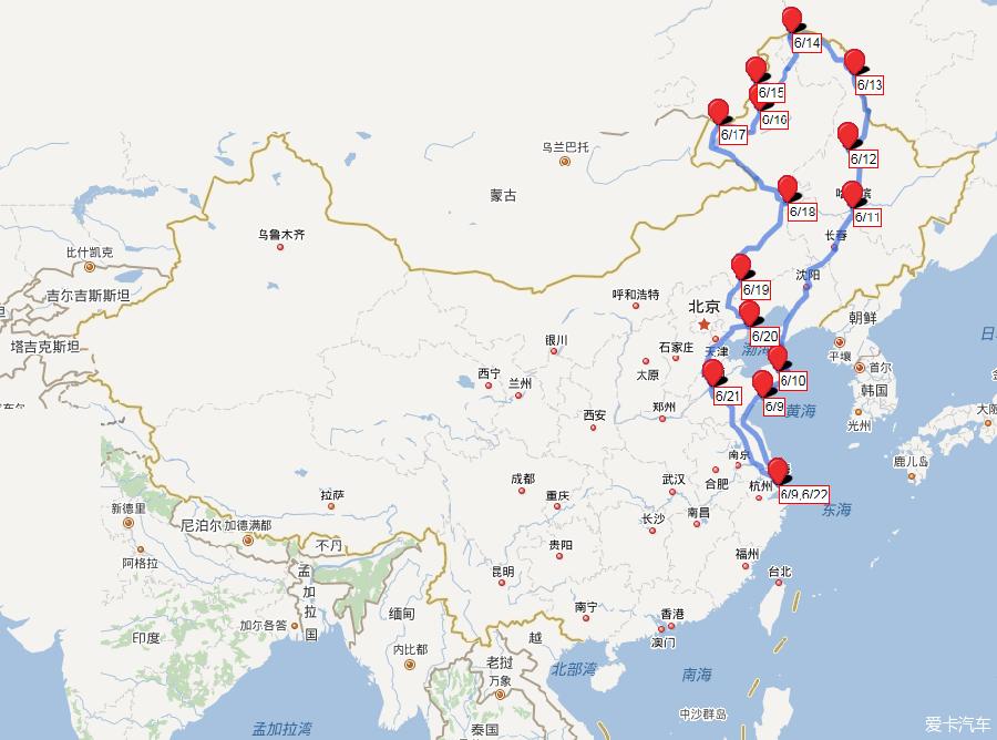 西藏,新疆和漠河自驾游路线图_自驾游路书攻略v自驾去专区旅顺图片