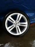 工作原因出售途观19寸轮毂轮胎或置换17寸、18寸轮毂轮胎