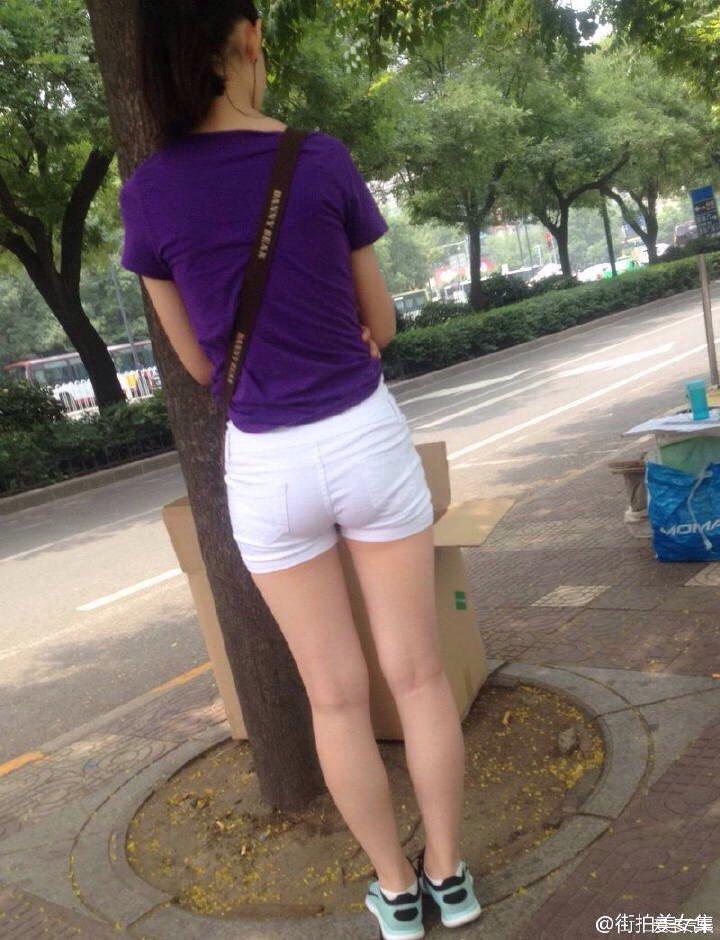 四川街拍美女图片