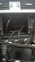 新明锐MIB配套的usb和aux安装上车