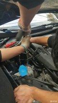 五代GTI更换发动机机脚