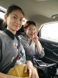 淮安广播电台主持人也来试驾博瑞了。