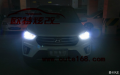 现代IX25改灯成都IX25车灯改装双光透镜欧司朗45瓦套装