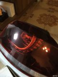 已出封贴》高尔夫R尾灯樱桃红GTI改装R20尾灯