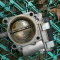 11款途安清洗节气门更换废气管/阀