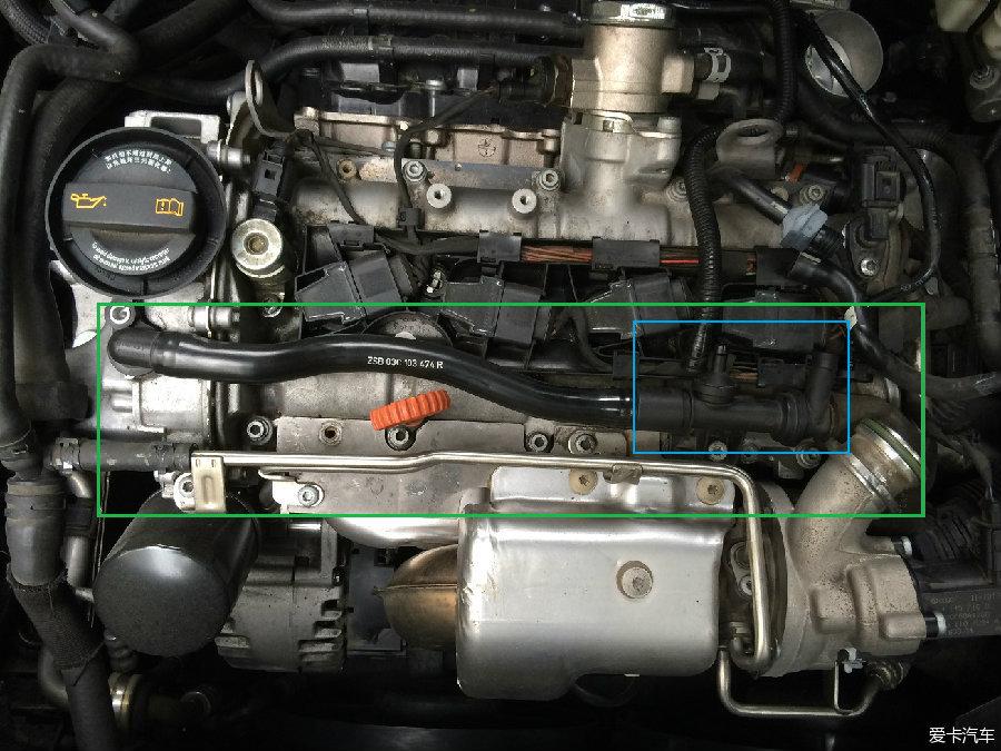11款途安清洗节气门更换废气管/阀图片