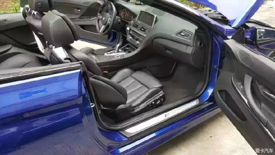 14款准新宝马M6 蓝色黑内_二手车市场_二手车